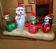 image gemmy prototype christmas north polars band inflatable