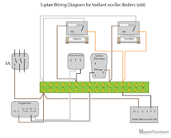 wiring diagram s plan heating system electrical installation at
