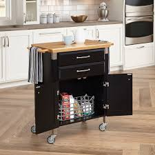 dolly kitchen island cart home styles dolly prep serve kitchen cart black