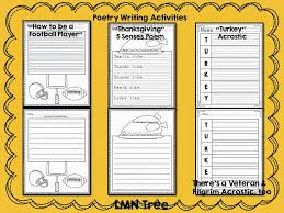 Acrostic Thanksgiving Poem Lmn Tree November Poems And Free Activities