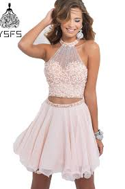 light pink graduation dresses light pink beaded cheap cute 8th grade short 2 two piece homecoming