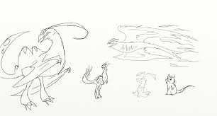 dragon hunters sketches of dragons how to train your