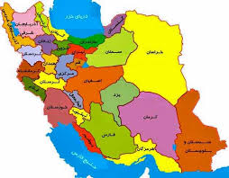 map iran map of iran provinces major tourist attractions maps