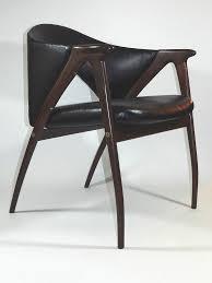 Scandinavian Leather Chairs Danish Modern Chair