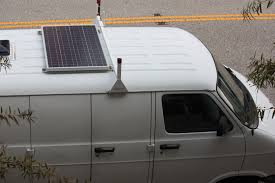 Install Honda Odyssey Roof Rack by How To Install A Solar Panel Array Mobile Technology And Van