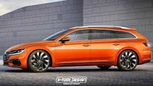 volkswagen wagon 2017 vw arteon wagon render could and should happen