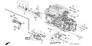 2004 honda odyssey parts honda odyssey 5 door lx ka 5at alternator bracket