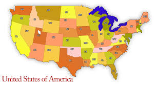 Map Of American States State Return Tax Requirements For Expats Americans Living Abroad
