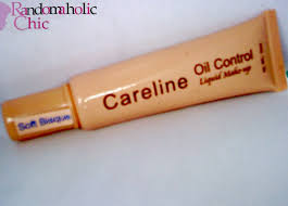 randomaholic chic product review careline oil control liquid make up