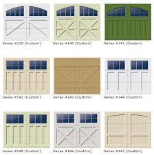 Garage Door Designs Wood Garage Door Ranch House Collection