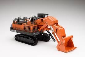 miniature models goods hitachi construction machinery trading