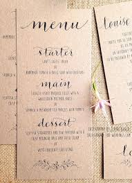 Programs For Weddings Best 25 Wedding Menu Cards Ideas On Pinterest Menu Cards