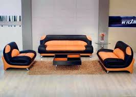 Orange Leather Sectional Sofa Orange Leather Sectional Orange Leather Sectional Sofa For