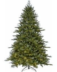 savings pre lit led 7 ft artificial tree clrs