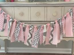 baby shower banner ideas elephant baby shower banner colors pink and gray baby by lovesews