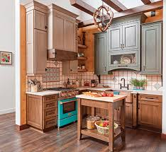 gray brown stained kitchen cabinets colorful kitchen inspiration 5 impactful on trend cabinet