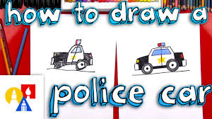 cartoon jeep side view how to draw a cartoon police car youtube