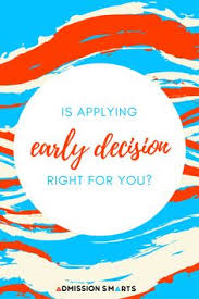 early action early decision and regular decision what u0027s the