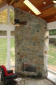 Screen Porch Fireplace by Is It Safe To Build An Elevated Wood Burning Outdoor Fireplace
