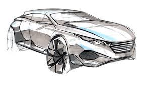 peugeot suv concept peugeot quartz futuristic suv concept sketch by michael han