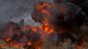 California Wildfire Ranking by Death Toll Climbs To 23 As Winds Fan California Wildfires