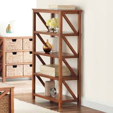 goods for life cameron 4 shelf tiered bookcase