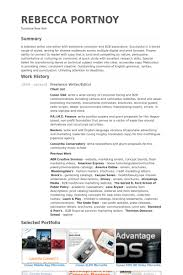 Portfolio Resume Sample by Freelance Writer Resume Samples Visualcv Resume Samples Database