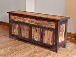Walnut Sideboard Reclaimed Wood Sideboard Chest Rustic Console Walnut Sideboard