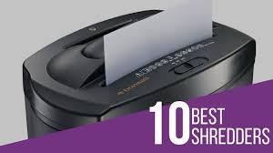 10 best shredders review 2017 youtube