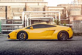 yellow lamborghini ag luxury wheels lamborghini gallardo forged wheels