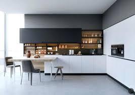 cuisine blanc noir cuisine blanc et bois credence noir lolabanet com