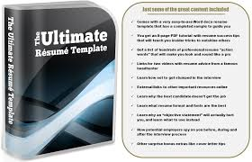 Best Word Resume Template by The Ultimate Resume Template U0026 Job Search Kit Personal Assistant