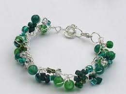 bead bracelet easy images A really pretty and easy twist wire bracelet tutorial the JPG