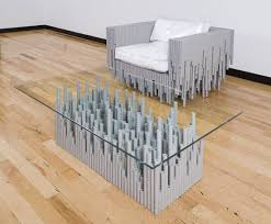 Furniture Recycling Artistic Furniture Created From Recycled Pvc Conduits Is Simply
