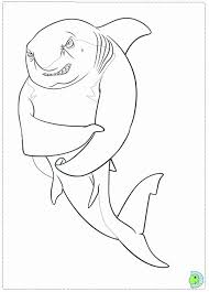 shark tale pictures kids coloring