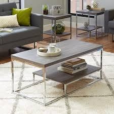 living room table sets coffee table sets you ll love wayfair