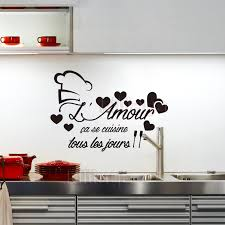 cuisine amour stickers cuisine l amour vinyl wall sticker decals mural wall