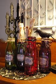 Wine Bottle Halloween Crafts by 117 Best Halloween Wine Bottles Images On Pinterest Halloween