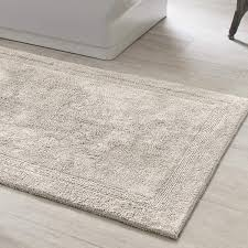 Cheap Bathroom Rugs And Mats Signature Dove Grey Bath Rug Pine Cone Hill