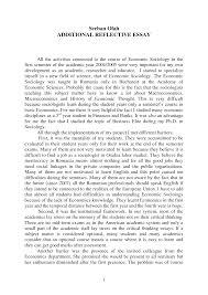 portfolio reflective essay sample essays university students reflective essay english class reflection essay examples