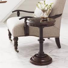 Tommy Bahama Sofa by Tommy Bahama Home Kilimanjaro Queenstown Round Accent Table In