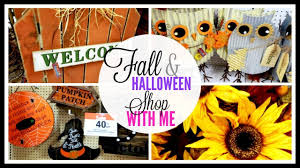 fall and halloween shop with me 2017 joann fabric u0026 crafts
