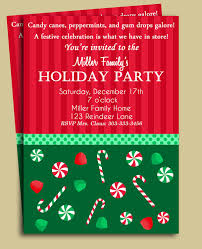 tips for choosing holiday party invitation wording free templates