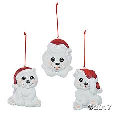 polar ornaments