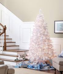 modern decoration kmart trees pre lit 7 glacier white