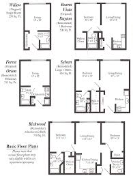 wonderful small apartment floor plans one bedroom and more on
