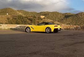 just corvette so i just drove a corvette