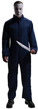 michael myers jumpsuit amazon com rubie s costume michael myers jumpsuit