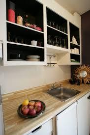 peinture d armoire de cuisine la cuisine d avant après cuisine noir peinture interieur
