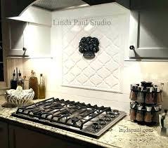 backsplash medallions kitchen kitchen backsplash medallions ideas tile medallions and